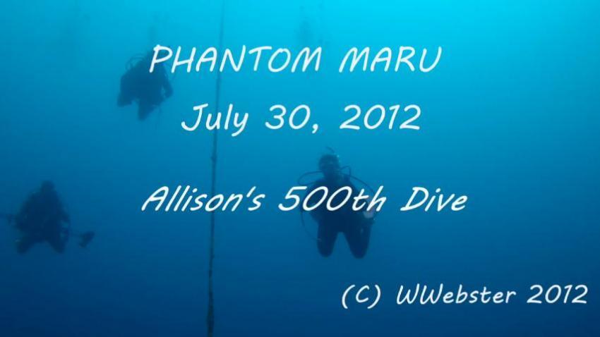 Phantom Maru Wreck Kwajalein