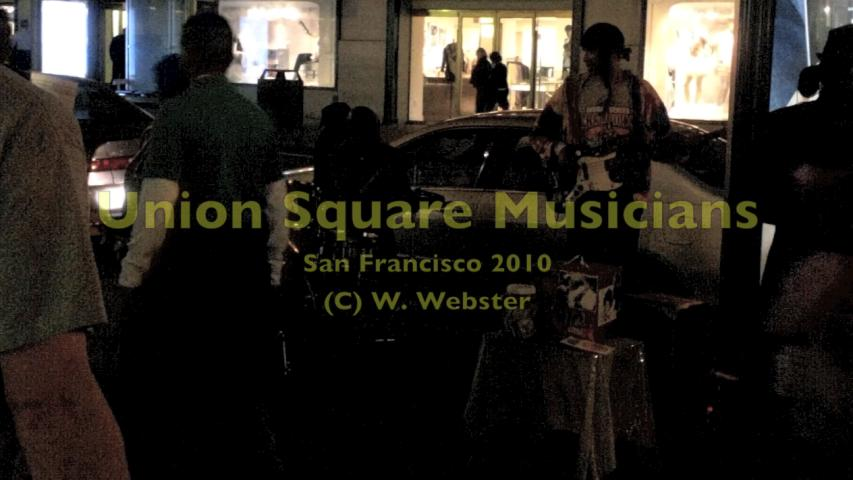 Webster - San Francisco Union Square Street Music