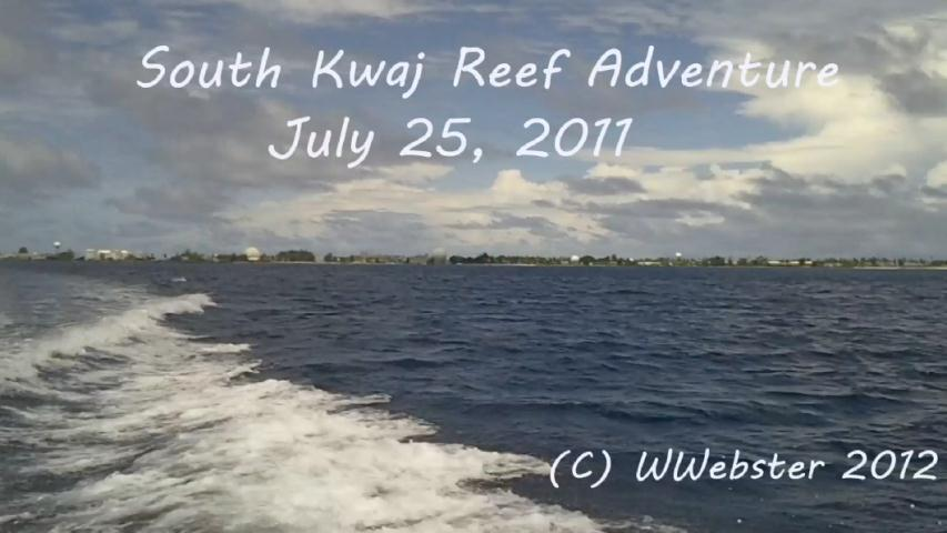 Webster - South Kwaj Reef Adventure