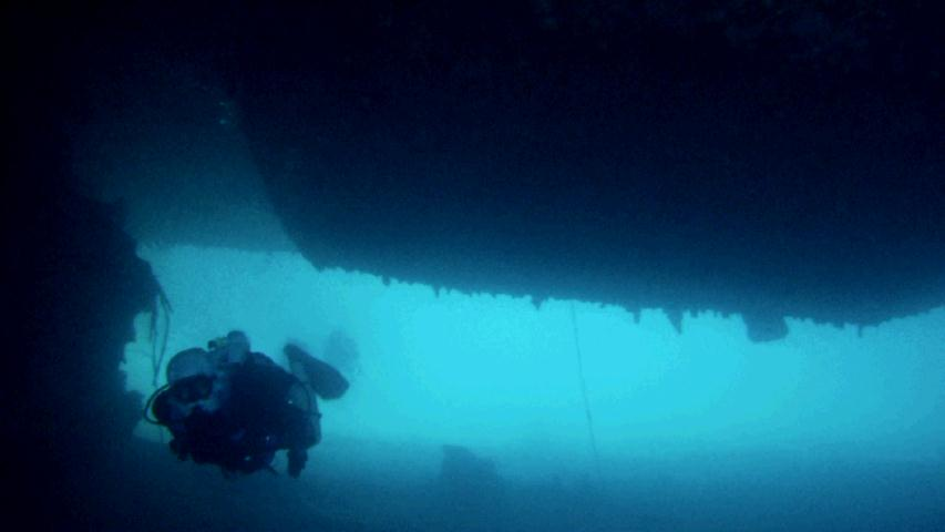 Webster - Diving Under the Bow of The Prinz Eugen
